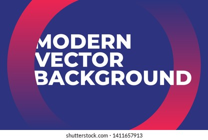 Modern Futuristic Abstract Gradient Colors vector Background