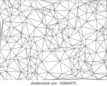 Modern geometric background. Polygonal art. Abstract backtop. Web design background.