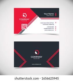 Modern Geometric Business Card Template