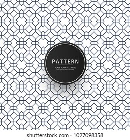 Modern geometric creative pattern texture background