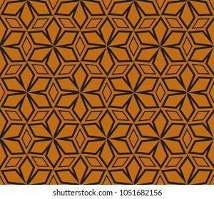 Modern geometric ornament. Seamless vector illustration for design.