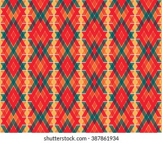 Modern geometric pattern. Vector Tribal elements, ethnic collection, aztec stile, tribal art, can be used for wallpaper, cover fills, web page background, surface textures. Geometric simple print.