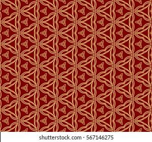 modern geometric seamless pattern background. Luxury texture for wallpaper, invitation. Vector illustration.