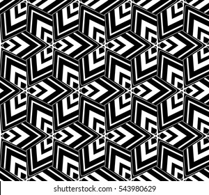 Modern geometric seamless pattern. For design, page fill, wallpaper.Vector illustration