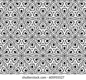 modern geometric seamless pattern with transparent background. vector illustration. for design, print, wallpaper, fabric