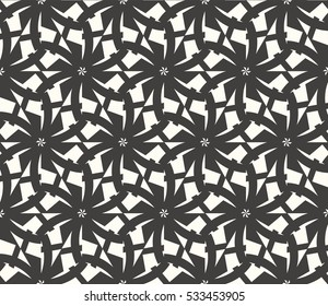 Modern geometric seamless pattern. Vector illustration. For design, page fill, wallpaper.