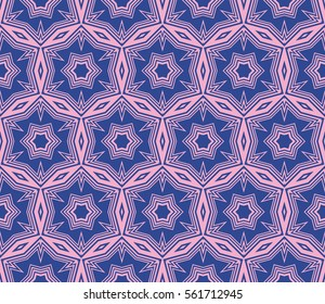 Modern Geometry ornament. Seamless Vector illustration. Decorative texture for design wallpaper, web page, banner, flyer.