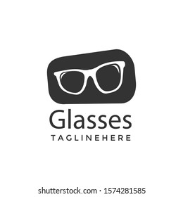 Modern Glasses, Eyeglasses, Spectacles, Glimmers, Peepers Logo Icon Sign Symbol Vector Illustration Design for company, brand identity, corporate, creative industry, business isolated white background