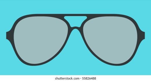 modern glasses frame