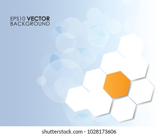 Modern Graphic Design Hexagon Background Eps 10