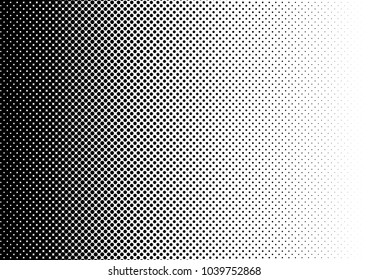 Modern Halftone Background. Pop-art Gradient Texture. Fade Distressed Pattern. Dotted Backdrop. Vector illustration