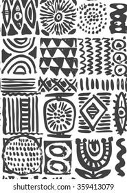 Sulu Boya Geometrik Desenler Stok Vektörler Görseller Ve Vektör