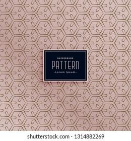 modern hexagonal abstract pattern background
