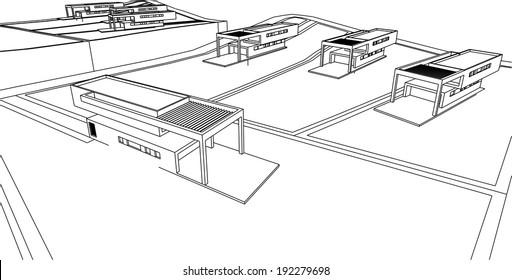 modern housebuilding