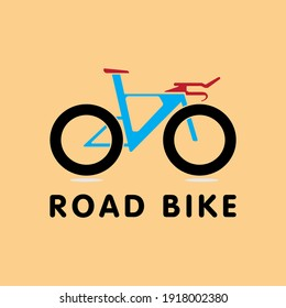 Modern Icon Logo Bicycle for Club or Commercial