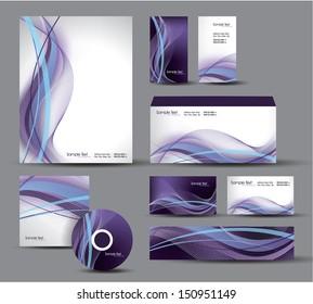 Modern Identity Package. Vector Illustration. Eps10.