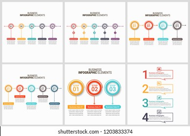 Modern Infographic Choice Template Set