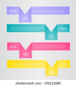 Modern infographic template. Can be used for banners, website templates and designs, infographic posters, brochures, ads, presentations, business, education designs.