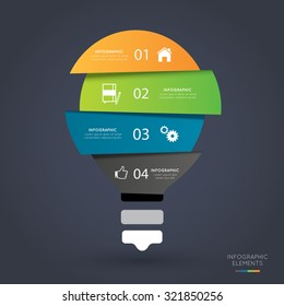 Modern infographics options banner,vector illustration. Can be used for work flow layout, diagram, number options, web design.