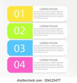 Modern inforgraphic template. Can be used for banners, website templates and designs, infographic posters, brochures, ads, presentations, business, education designs.
