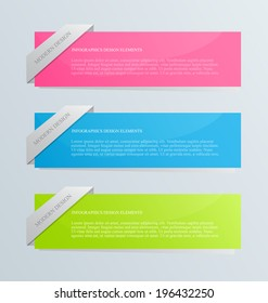 Modern inforgraphics template. Can be used for banners, website templates and designs, infographic posters, brochures, ads, presentations, business, education design