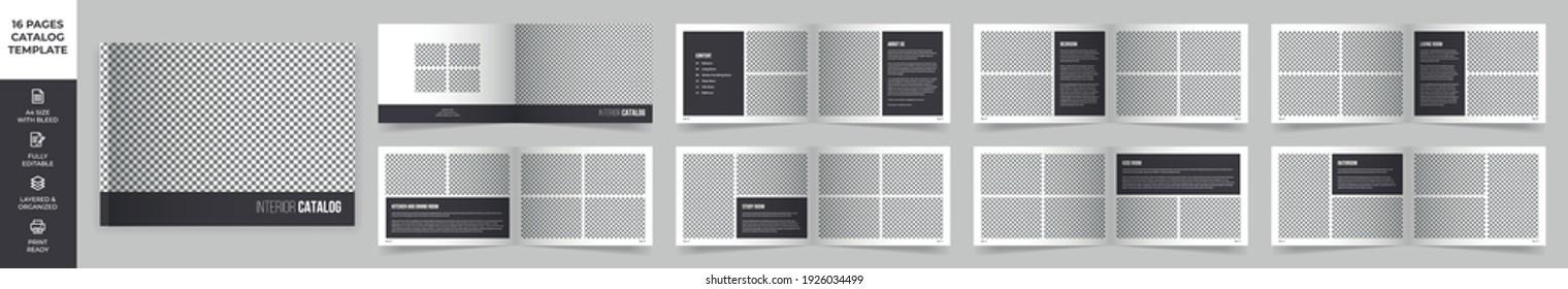Modern Interior Design Catalog Layout, Product Catalog, Minimal Magazine Design, Landscape Brochure Design , Fashion and Multipurpose portfolio, Photo Book Design
