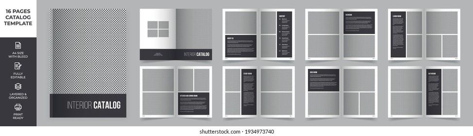 Modern Interior Design Catalog Layout, Product Catalog, Minimal Magazine Design, Brochure Design , Fashion and Multipurpose portfolio, Photo Book Design