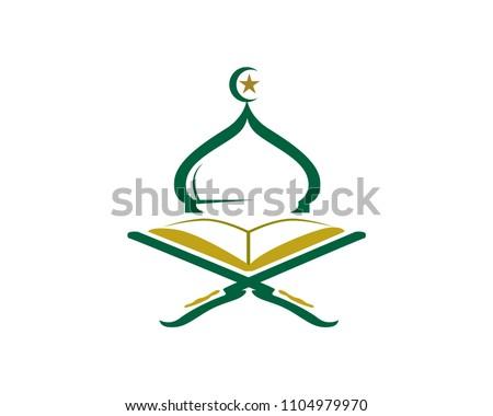 Quran Logo Vector - Gambar Islami