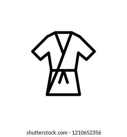 Modern karate icon