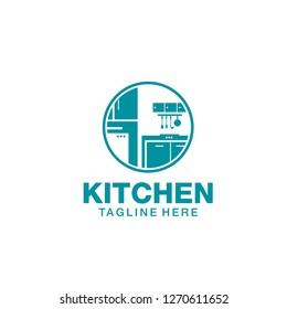 Kitchen Construction Logo Stock Illustrations Images Vectors