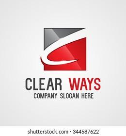 Modern Letter C Logo