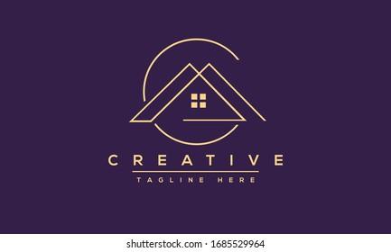 Modern letters AC, A&C Logo Design Template Vector.