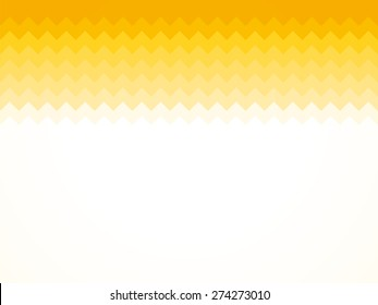 Modern light yellow sawtooth background