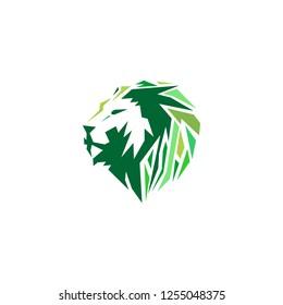 modern lion logo