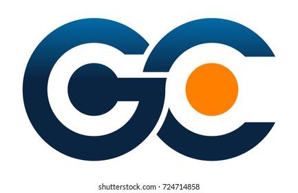 Modern Logo Solution Letter G C