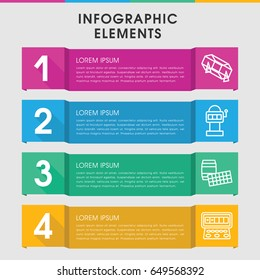 Modern Fit Infographic Template Infographic Design Stock Vector ...