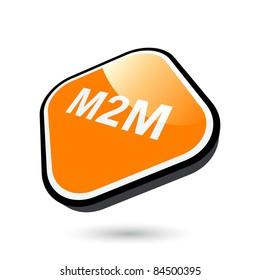 modern m2m sign