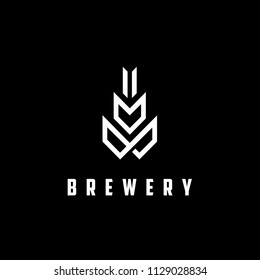 Modern Malt Logo design for Ale Beer Brewery