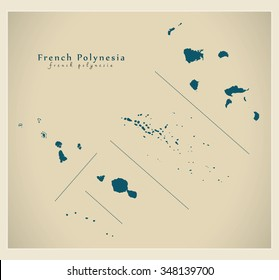 Polynesia Map Images Stock Photos Vectors Shutterstock