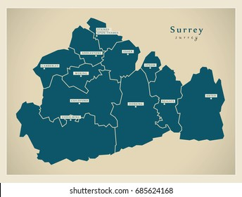 Guilford England Map.Guildford England Stock Vectors Images Vector Art Shutterstock