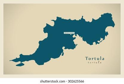 Modern Map - Tortula VG