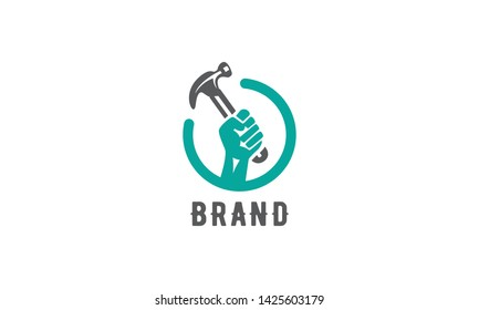 A modern and memorable logo for a carpentry business.