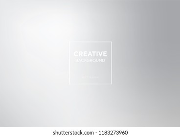 Modern minimal style abstract gredient white smoky gray background