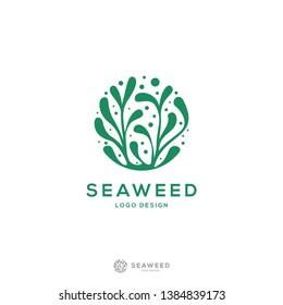 modern and minimalis Seaweed logo design inspiration