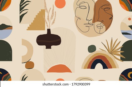 Minimalistic Wallpaper High Res Stock Images Shutterstock Want some super cute iphone wallpapers, free desktop wallpapers, and other free. https www shutterstock com image vector modern minimalist abstract aesthetic pattern bohemian 1792900399
