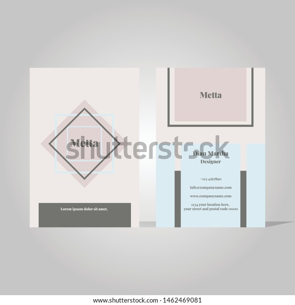 Minimalist Business Card Template from image.shutterstock.com