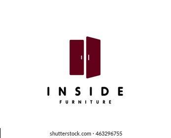 furniture logo. Perfect Furniture Modern Minimalistic Furniture Logo Template On Furniture Logo