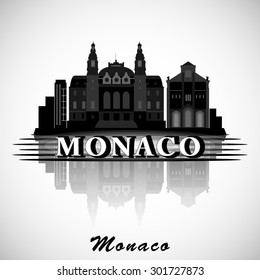 Modern Monaco Skyline Design