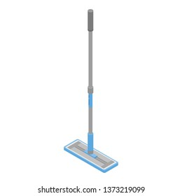 Modern mop icon. Isometric of modern mop vector icon for web design isolated on white background