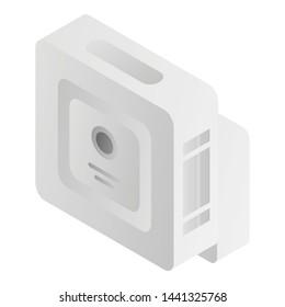 Modern motion sensor icon. Isometric of modern motion sensor vector icon for web design isolated on white background